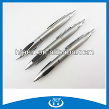 Unique Fat Silver Ink Refill Metal Ballpoint For School