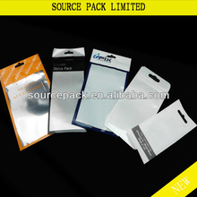 Cell Phone Accessories Bag cell phone accessories packaging bags cell phone ziplock bag for iphone