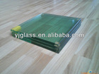 8 mm thickness clear and tinted tempered glass