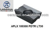 APLX 100308 PDTR LT30 inserts carbide milling inserts