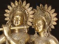 Brass and Bronze Metal Religious Statues