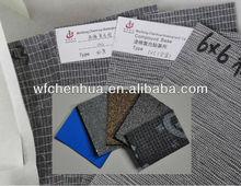 Black fiberglass mat reinforcement for bituminous membrane