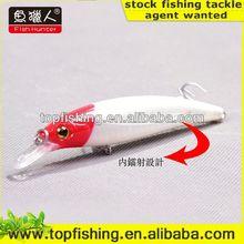 weihai top fishing wholesale minnow wobbler salmon lure