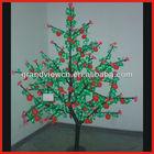 hot sale! h=1.8m 1152pcs led apple/fruit tree for decoration,Christmas lights,outdoor lights.street lights