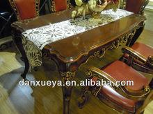 classical luxury wooden european style dining room set danxueya-TH01#