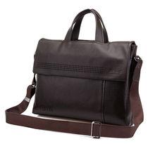 mens high quality pu sling leather bag