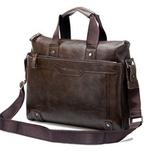 14 inch Italian leather shoulder strap bags for men