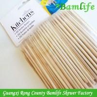 Best quality custom-made flat bamboo bbq skewers sticks