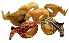 Mahogany Animal Napkin Rings