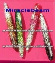 rhinestone jewel crystal bling pen with progressive rhinestone jewel crystals on ballpoint pen gift pen promotional pen