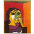 Handmade Pablo Picasso abstract Oil painting, Dora Maar