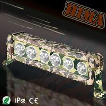 60w 12inch Camo Led Light Bar jeep coats off road helmets