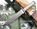 Top popular melhor exército combate militar faca com nlylon bainha PK-5122