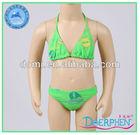 Latest Design Small Girl Hot Sexy Bikini/Flower Baby Clothing/Lovely Children Swimwear