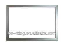 Square aluminum frame for solar panel