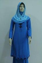 Fashion baju kurung plus size ladies women dress