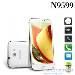 5.7 inch IPS 1280*720Pixels Android 4.2.1 OS MTK6589T 1.5GHz Quad core android phone N9599T