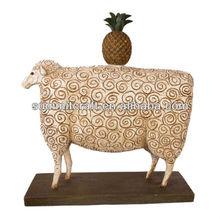 Custom made decorative polystone figure