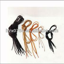 hemp shoelaces/elastic shoelaces/round colored elastic shoelaces