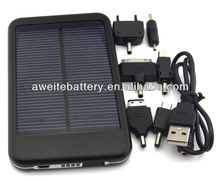 2013 Newest And Hot Sale 5000mAh Laptop Solar Charger, Solar Charger For Laptop/Mobile Phone/iPad/iPhone
