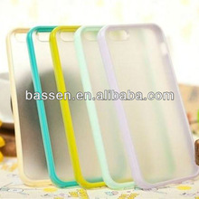candy color tpu bar for iphone4 and 5 cases
