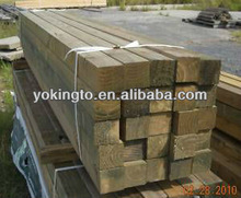 Rough wood fencing products