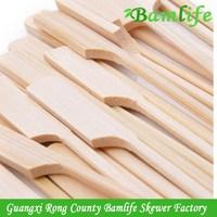 Top grade hot sell bamboo printed teppo skewer sticks
