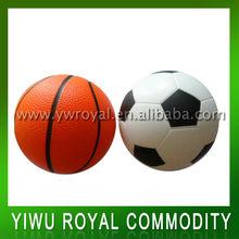 Sport ball shaped anti stress ball,PU soccer ball,Polyurethane basket ball