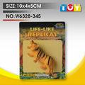 النمر حيوان tpr مطاطية اللعبتعزيز هديةوامض نموذج للأطفال