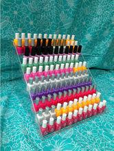 Esmalte de uñas de acrílico del estante, de la pantalla, hold100+, esmaltes de uñas opi, china glaze, essie