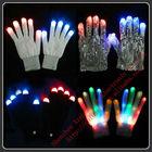 New 7 Mode LED Finger Glove Lighting
