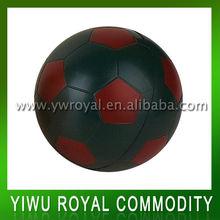 Muti color football shaped anti stress ball,PU soccer ball,Polyurethane basket ball