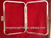 fashion design bag / wallet metal accessory handle parts