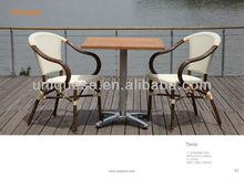 Roma 4 teak table Alum textyline chair cheap garden gazebo