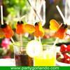 Unique custom-made honey decorative artificial party straw