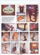 GreenRidge Custom Made Guitar Stands