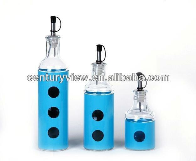 Hot Selling Kitchenware Decorative Kitchen Vinegar Bottles