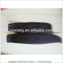 natural hair silk straight 100% unprocessed 5a human virgin peruvian