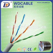 Offer CE,ROHS certificate 305m pure copper Cat.5e utp ethernet cable