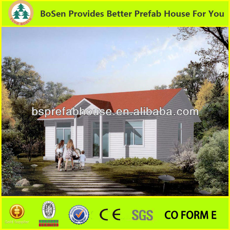 prefabricated houses modern steel villas