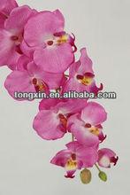 single stem flower collection artificial open smile flower/fake flower