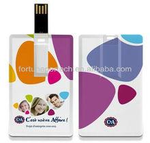 card shape usb flash drives/card type usb flash drive