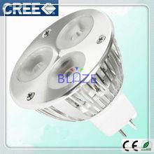 High Power CREE leds 3*2W led spotlight Bulbs MR16