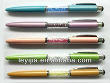 Crystal bling stylus ball pen - LY-S013