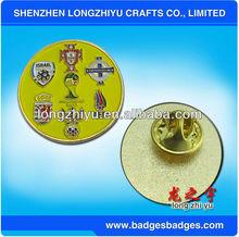 Distinctive Design Metal Hard Enamel Sport Football Badges/Sports Badge/Lapel Pin/Medal