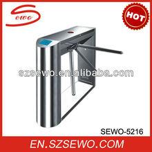 Turnstile mechanism of electronic turnstile gate for entrance control