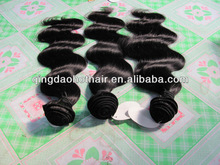 Hot selling wholesale price excellent quality e body wave human hair weaving