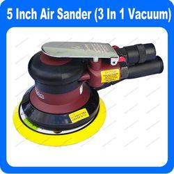 5 Inch Air Pneumatic Sander (Non Vacuum, Self Generated Vacuum, Central Vacuum)