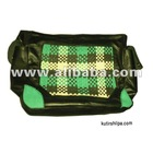 Leather Mesh Bag leather batik bags - Kutir Shilpa -Bangladesh