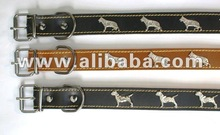 Pet Collar from natural leather